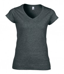 Image 8 of Gildan SoftStyle® Ladies V Neck T-Shirt
