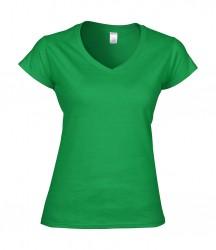 Image 9 of Gildan SoftStyle® Ladies V Neck T-Shirt
