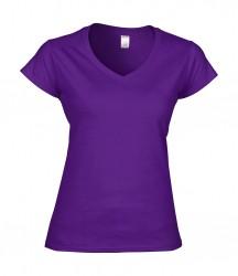 Image 3 of Gildan SoftStyle® Ladies V Neck T-Shirt