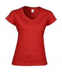 Image 11 of Gildan SoftStyle® Ladies V Neck T-Shirt