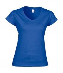 Image 4 of Gildan SoftStyle® Ladies V Neck T-Shirt