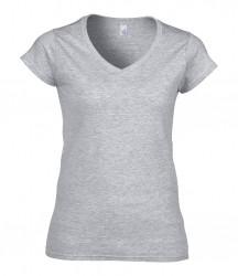 Image 12 of Gildan SoftStyle® Ladies V Neck T-Shirt