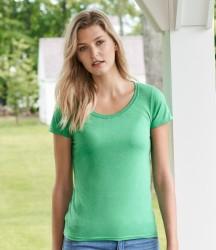 Gildan Ladies SoftStyle® Deep Scoop T-Shirt image