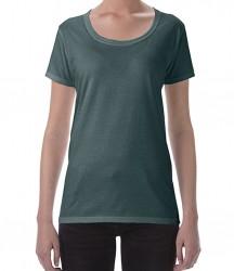 Image 11 of Gildan Ladies SoftStyle® Deep Scoop T-Shirt