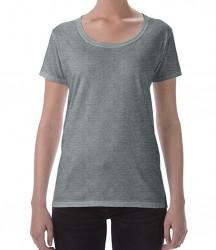 Image 10 of Gildan Ladies SoftStyle® Deep Scoop T-Shirt