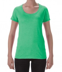 Image 9 of Gildan Ladies SoftStyle® Deep Scoop T-Shirt
