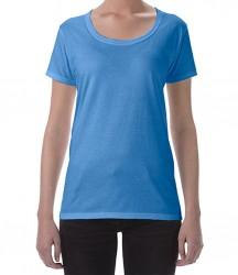 Image 7 of Gildan Ladies SoftStyle® Deep Scoop T-Shirt