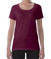 Image 3 of Gildan Ladies SoftStyle® Deep Scoop T-Shirt