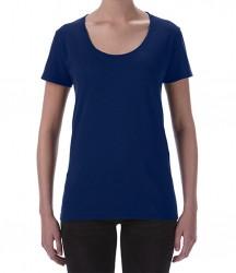Image 8 of Gildan Ladies SoftStyle® Deep Scoop T-Shirt