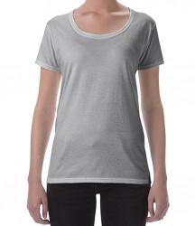 Image 5 of Gildan Ladies SoftStyle® Deep Scoop T-Shirt