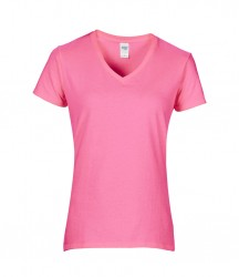 Image 2 of Gildan Ladies Premium Cotton® V Neck T-Shirt