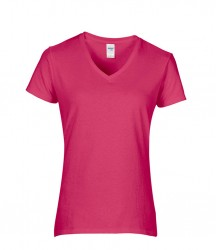Image 3 of Gildan Ladies Premium Cotton® V Neck T-Shirt