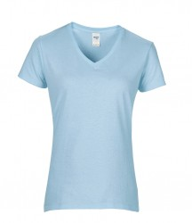 Image 4 of Gildan Ladies Premium Cotton® V Neck T-Shirt