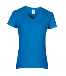 Image 9 of Gildan Ladies Premium Cotton® V Neck T-Shirt