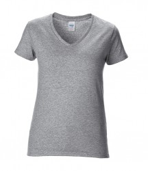 Image 8 of Gildan Ladies Premium Cotton® V Neck T-Shirt