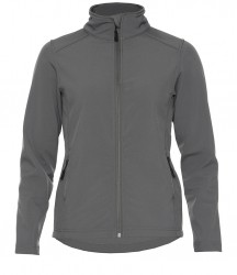 Image 2 of Gildan Hammer Ladies Soft Shell Jacket