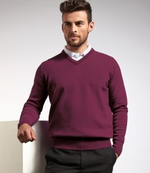 Glenmuir V Neck Lambswool Sweater image