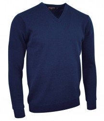 Image 7 of Glenmuir V Neck Lambswool Sweater