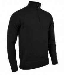 Glenmuir Zip Neck Lambswool Sweater image