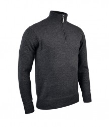 Image 3 of Glenmuir Zip Neck Lambswool Sweater