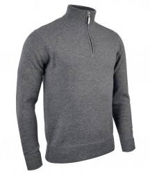 Image 4 of Glenmuir Zip Neck Lambswool Sweater