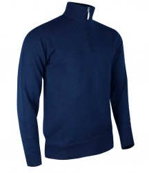 Image 5 of Glenmuir Zip Neck Lambswool Sweater