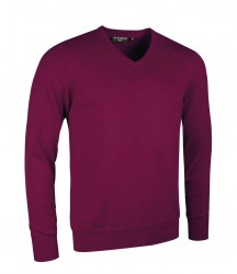 Glenmuir V Neck Cotton Sweater image