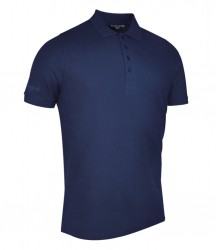 Image 8 of Glenmuir Classic Fit Piqué Polo Shirt