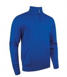 Glenmuir Zip Neck Cotton Sweater image