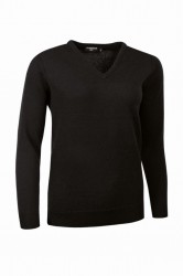 Glenmuir Ladies V Neck Lambswool Sweater image