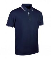 Image 4 of Glenmuir Tipped Piqué Polo Shirt