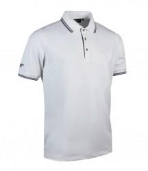 Image 5 of Glenmuir Tipped Piqué Polo Shirt
