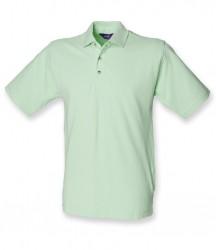 Henbury Classic Heavy Cotton Piqué Polo Shirt image