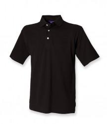 Image 3 of Henbury Classic Heavy Cotton Piqué Polo Shirt