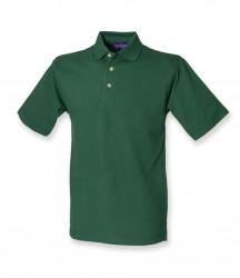 Image 4 of Henbury Classic Heavy Cotton Piqué Polo Shirt