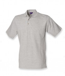 Image 9 of Henbury Classic Heavy Cotton Piqué Polo Shirt