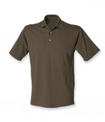 Image 12 of Henbury Classic Heavy Cotton Piqué Polo Shirt
