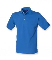 Image 14 of Henbury Classic Heavy Cotton Piqué Polo Shirt