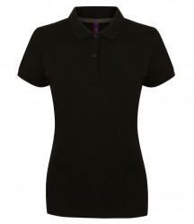 Henbury Ladies Modern Fit Cotton Piqué Polo Shirt image