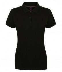 Henbury Ladies Modern Fit Cotton Piqué Polo Shirt image