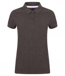 Image 4 of Henbury Ladies Modern Fit Cotton Piqué Polo Shirt