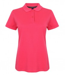Image 6 of Henbury Ladies Modern Fit Cotton Piqué Polo Shirt