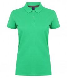 Image 8 of Henbury Ladies Modern Fit Cotton Piqué Polo Shirt