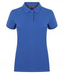 Image 10 of Henbury Ladies Modern Fit Cotton Piqué Polo Shirt