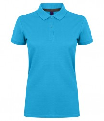 Image 11 of Henbury Ladies Modern Fit Cotton Piqué Polo Shirt