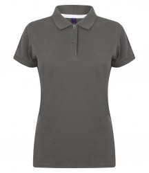 Image 12 of Henbury Ladies Modern Fit Cotton Piqué Polo Shirt