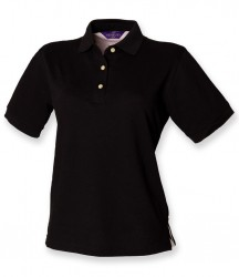 Henbury Ladies Classic Cotton Piqué Polo Shirt image