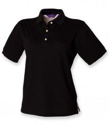 Henbury Ladies Classic Cotton Piqué Polo Shirt image