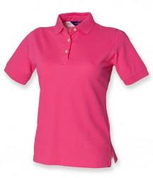Image 3 of Henbury Ladies Classic Cotton Piqué Polo Shirt