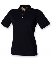 Image 4 of Henbury Ladies Classic Cotton Piqué Polo Shirt